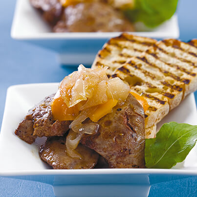 Livers-with-GOLDEW-Peppers-garnish-and-toast-403x403