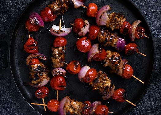 Chicken Kebabs Whole Peppadews