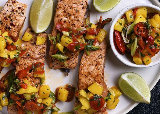 Salmon Platter Peppadews