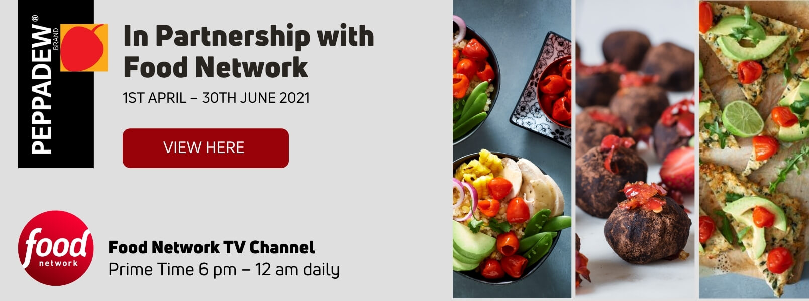 peppadew food network sponsorship
